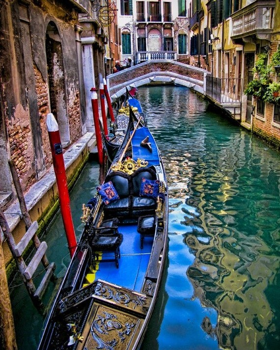 Intermezzo, CANVAS wrap - Venice poster size canvas - Fine art travel photography gift