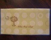 Checkbook Cover- Hilton Head Island