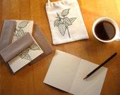 SALE Printed Card Set - Gift Bag - Stinging Nettle Design