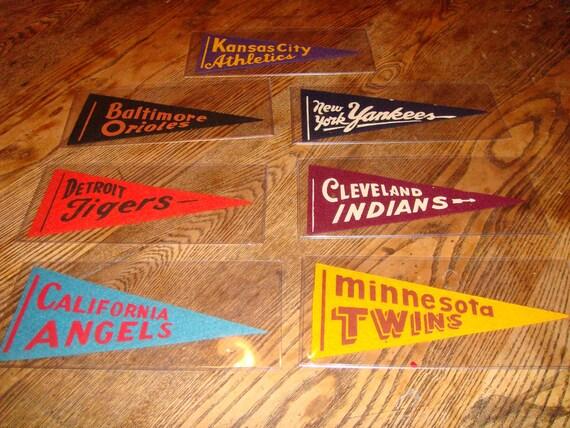 Vintage Baseball Pennants
