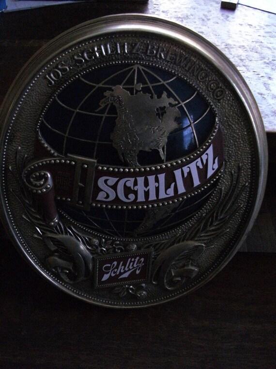 Vintage Schlitz Beer Sign