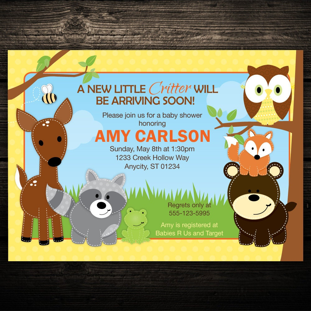 il_fullxfull.297996085 woodland invitation forest baby shower invitation woodland,How To Invite People To A Baby Shower