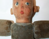 Vintage Norah Welling Doll Hand Painted Face 1920s