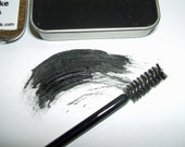 Natural MINERAL MASCARA Creamy Cake Rich Color Long Lasting VEGAN was 12.95 Now Only 7.95