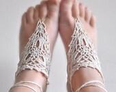 40% SPRING SALE NOW Barefoot Crochet Sandals