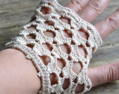 PATTERN ONLY (PDF File) - short wedding gloves, bridal, bride, lace, lacy, accessories, how to make