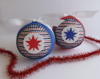 Favor Size Surprise Ball- Patriotic