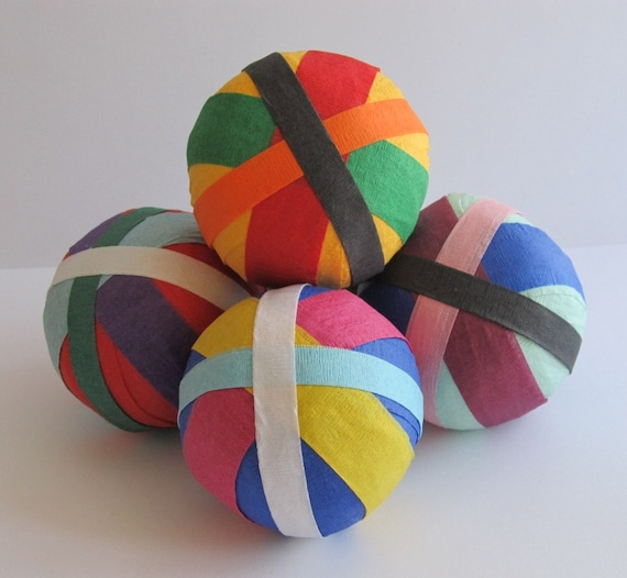 Favor Size Surprise Ball- Multi Streamer
