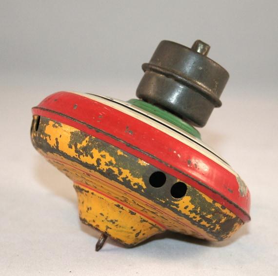 Vintage Gibbs Metal Toy Top