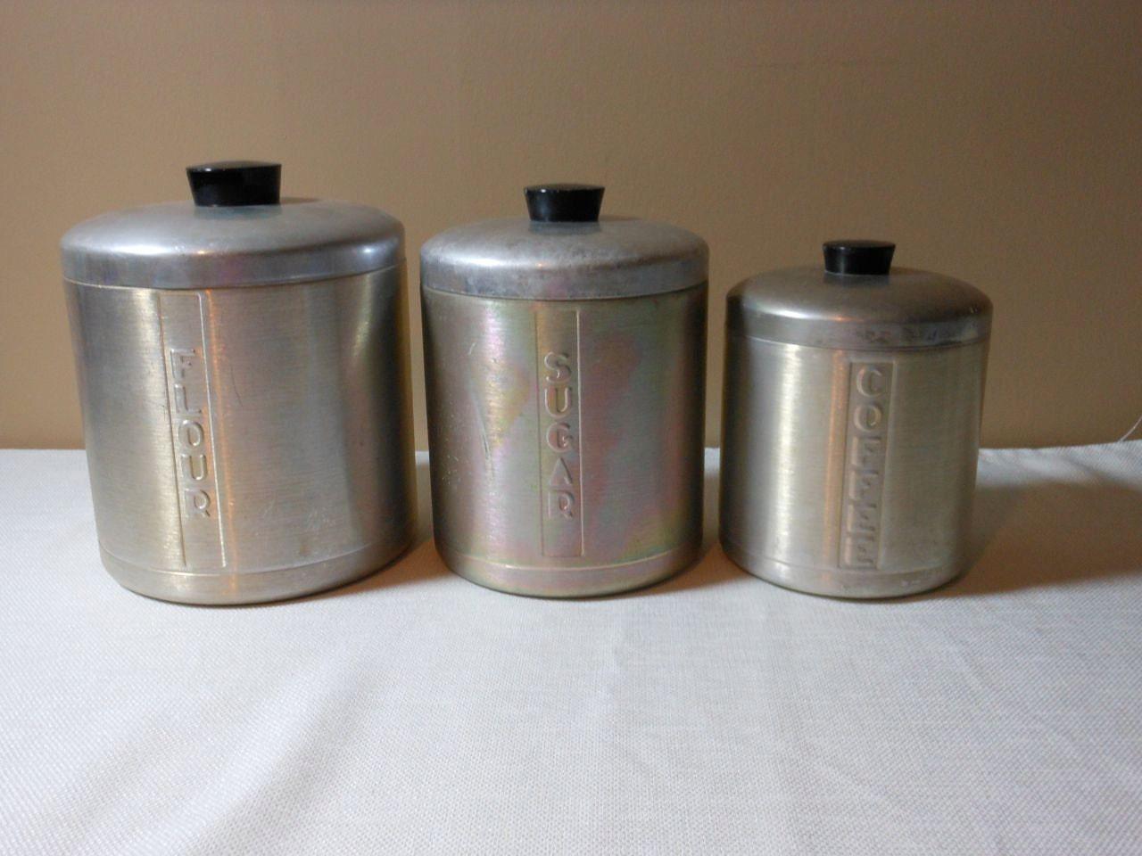 Vintage Cannister Set 89