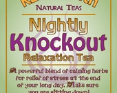 Nightly Knockout Herbal Tea Insomnia