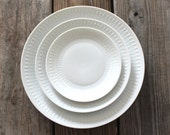 Vintage Hutschenreuther Plates. Place setting for 8