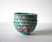 Vintage Set of Asian Bowls