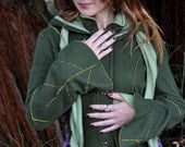 Magical Green Forest Faerie Coat