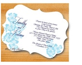 Hawaiian Party - Wedding Invitation