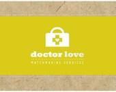 SALE Custom Logo  -  PreDesigned PreMade Logo Design DOCTOR LOVE