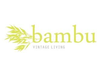 SALE - PreDesigned Customized BAMBU Vector Logo