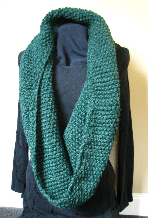 Large Cowl-Hunter Green