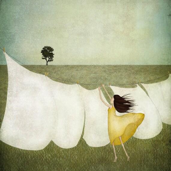 Summer breeze - Art print (3 different sizes)