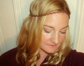 Copper Queen 3 strand Headpiece