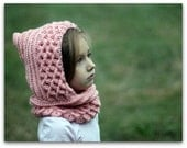 CROCHET PATTERN: Crocodile Stitch Hood (Toddler and Child) - Permission to Sell Finished Product