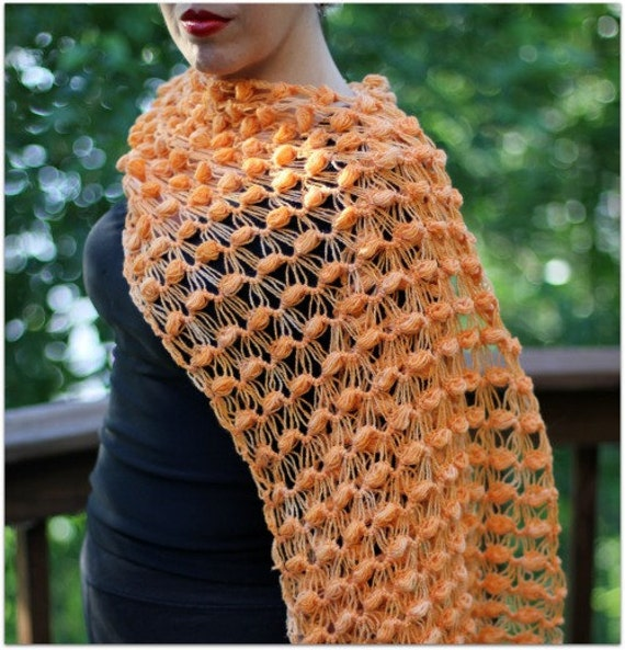 CROCHET PATTERN: Good Intentions Wrap - Permission to Sell Finished Product