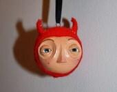 Halloween Devil Ornament