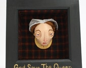 Mary Queen of Scots framed Sculpture