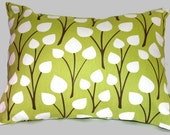 4 Simple Spring (Green) Accent Pillow