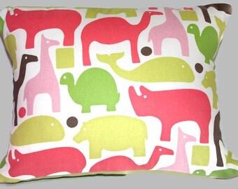 Jungle Girl Accent Pillow