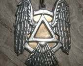 A.A. Wings Of Recovery Necklace   FREE SHIPPING