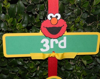 Sesame Street Party Sign with Elmo
