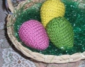 Crochet Easter Eggs