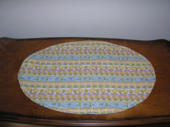 Quilted Easter Place Mats Set of 4