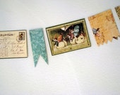 Fairy Flags postcard style garland
