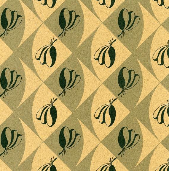 """Artist Papers - 18x24 Sheets in """"Fan Dance"""" Design"""