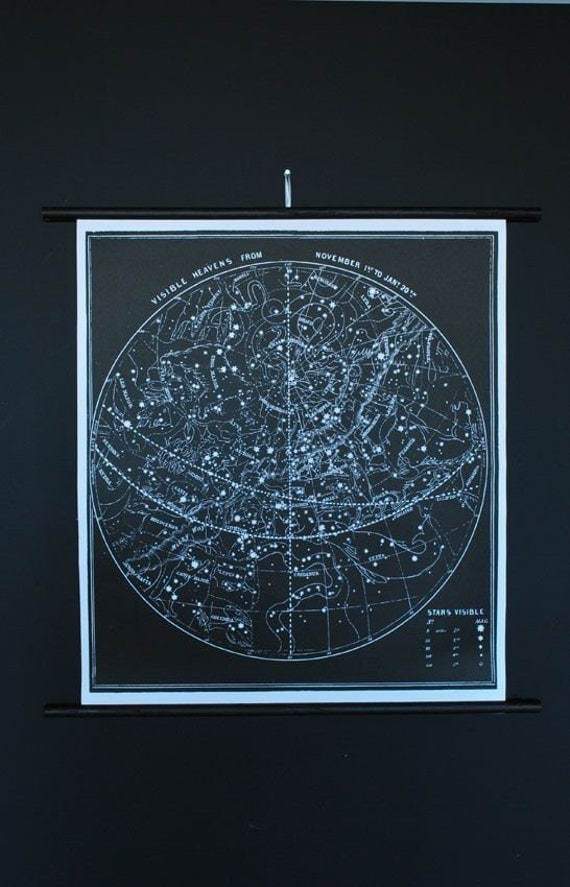 Constellation Chart (Signed)