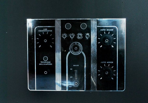 Late 1930's X-Ray Contol Panel