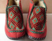 vintage 1960s Witchy Woman elf shaman boots