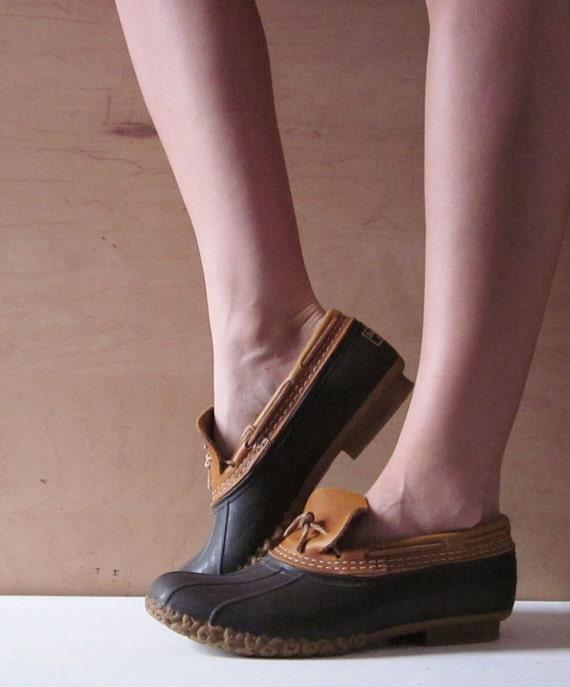 Ll bean duck boots preppy - photo#2