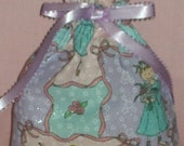 Ballerina Girls Small Fabric Gift Bag - Ballet, Dance, Dancer, Recital, Children, Pink, Blue, Lavender