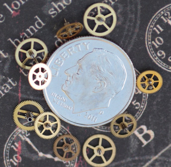 Vintage Watch Part Gears Only Teeny Tiny