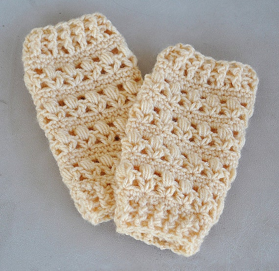 Items similar to Baby Crochet Leg Warmers on Etsy