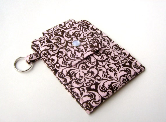 Discontinued- Last One- iPod or Cell Phone Cozy- Elegant Damask