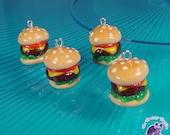 1pc Cheese Burger Charm