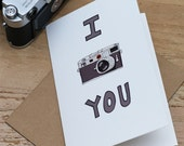 I Leica You Card