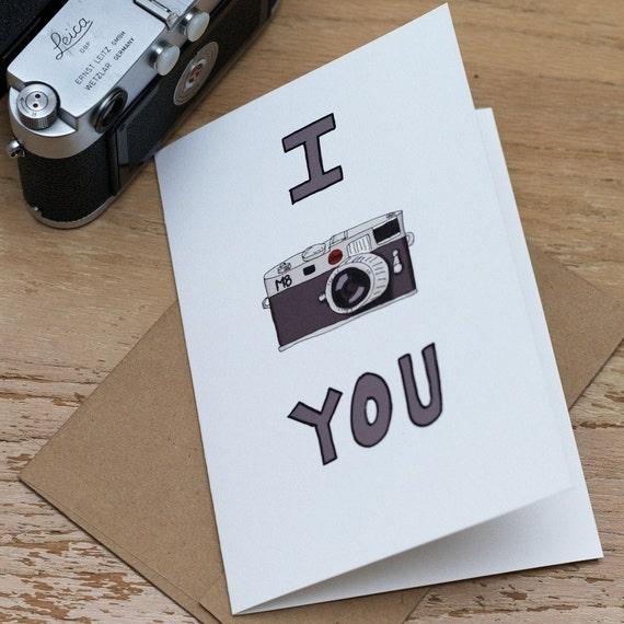 I Leica You Card
