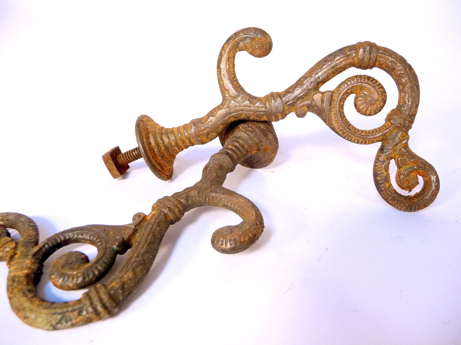 Pair Of Decorative Victorian Wall Hooks