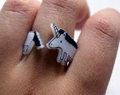 Unicorn Wrap-Around Ring