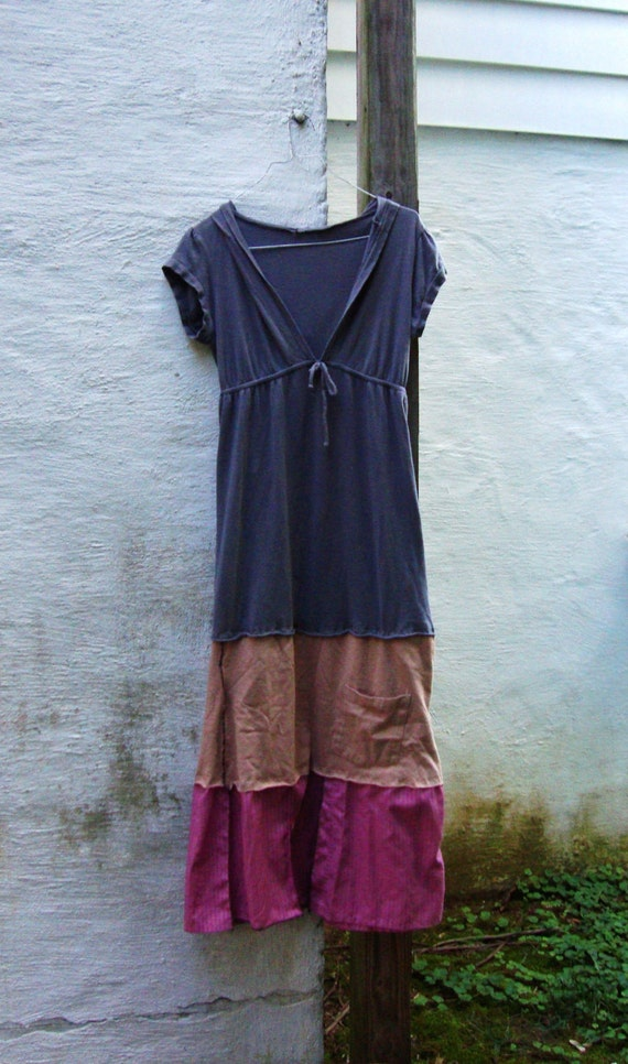 eco dress saleeco upcycled hooded t shirt dress great for
